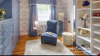 Closet Factory TV Spot, 'Make Your Closets Pretty' - Thumbnail 9