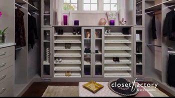 Closet Factory TV Spot, 'Make Your Closets Pretty' - Thumbnail 2