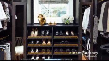 Closet Factory TV Spot, 'Make Your Closets Pretty' - Thumbnail 6
