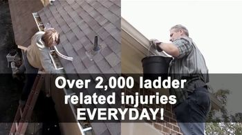 Beldon LeafGuard Spring Blowout Sale TV Spot, 'Ladder-Related Accidents' - Thumbnail 1