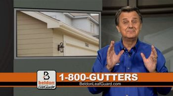 Beldon LeafGuard Spring Blowout Sale TV Spot, 'Ladder-Related Accidents'