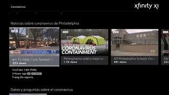 XFINITY X1 Voice Remote TV Spot, 'COVID-19: te mantenemos informado' [Spanish] - Thumbnail 2