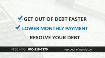 Rescue One Financial TV Spot, 'Drowning in Debt' - Thumbnail 2