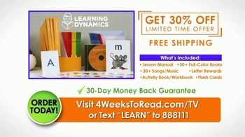 4 Weeks to Read TV Spot, 'Staying On Track: 30 Percent Off' - Thumbnail 9