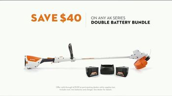 STIHL TV Spot, 'Real STIHL: Trimmer and Double Battery Bundle' Song by Sacha Collisson - Thumbnail 5