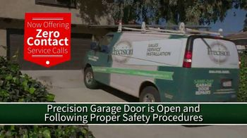 Precision Door Service TV Spot, 'Zero Contact Service Calls'