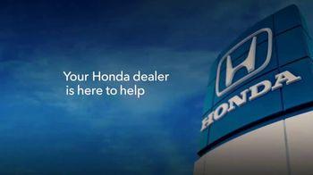 Honda TV Spot, 'Open for Service' [T1] - Thumbnail 4