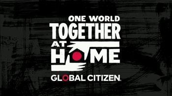 Global Citizen TV Spot, '2020 One World: Together at Home'