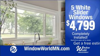 Window World TV Spot, 'White Sliders Windows: $4,799 and Financing' - Thumbnail 2
