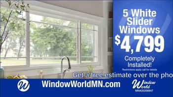 Window World TV Spot, 'White Sliders Windows: $4,799 and Financing' - Thumbnail 3