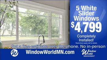 Window World TV Spot, 'White Sliders Windows: $4,799 and Financing' - Thumbnail 4