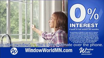 Window World TV Spot, 'White Sliders Windows: $4,799 and Financing' - Thumbnail 7