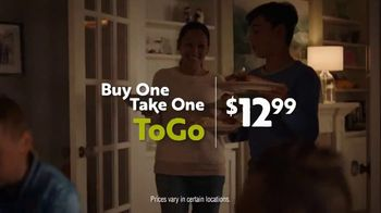 Olive Garden Buy One Take One TV Spot, 'Pickup or Delivery: No Free Delivery' - Thumbnail 4