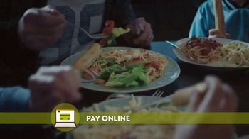 Olive Garden Buy One Take One TV Spot, 'Pickup or Delivery: No Free Delivery' - Thumbnail 7
