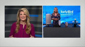 MorningSave Early Bird Bargains TV Spot, 'Clean Air System, Earbuds and Water Bottle'