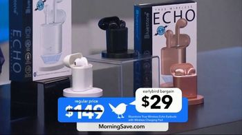 MorningSave Early Bird Bargains TV Spot, 'Clean Air System, Earbuds and Water Bottle' - Thumbnail 6