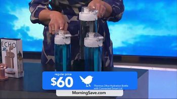 MorningSave Early Bird Bargains TV Spot, 'Clean Air System, Earbuds and Water Bottle' - Thumbnail 8