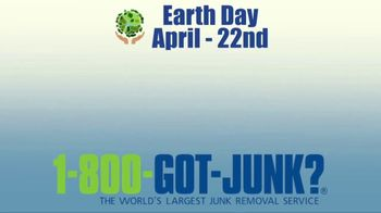1-800-GOT-JUNK TV Spot, 'Earth Day: Spring Cleaning' - Thumbnail 1