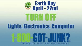 1-800-GOT-JUNK TV Spot, 'Earth Day: Spring Cleaning' - Thumbnail 3