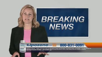 Lipozene TV Spot, 'Breaking News' - Thumbnail 1