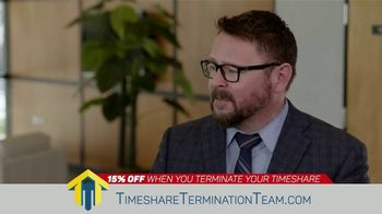 Timeshare Termination Team TV Spot, 'Seasons of Financial Uncertainty: 15 Percent Off' - Thumbnail 4