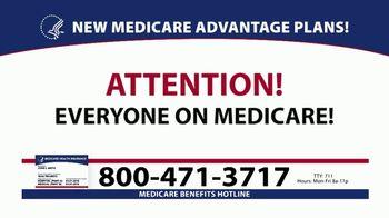 Medicare Benefits Helpline TV Spot, 'Additional Benefits: New Plans' - Thumbnail 1