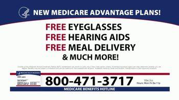 Medicare Benefits Helpline TV Spot, 'Additional Benefits: New Plans' - Thumbnail 3