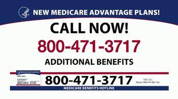 Medicare Benefits Helpline TV Spot, 'Additional Benefits: New Plans' - Thumbnail 4