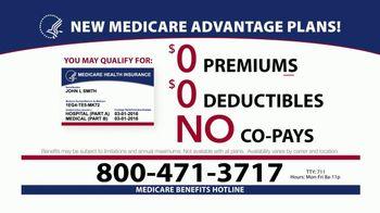 Medicare Benefits Helpline TV Spot, 'Additional Benefits: New Plans' - Thumbnail 5