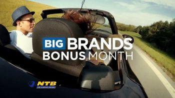 National Tire & Battery Big Brands Bonus Month TV Spot, 'Free Basic Installation: Cooper Tires' - Thumbnail 2