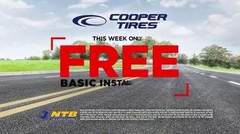 National Tire & Battery Big Brands Bonus Month TV Spot, 'Free Basic Installation: Cooper Tires' - Thumbnail 5