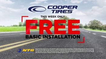 National Tire & Battery Big Brands Bonus Month TV Spot, 'Free Basic Installation: Cooper Tires' - Thumbnail 8