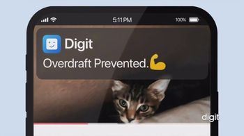 Digit TV Spot, 'Emergency Overdraft Prevention' - Thumbnail 9
