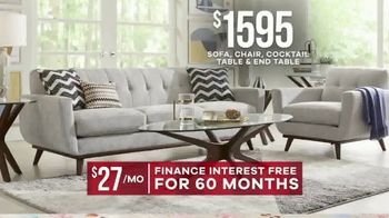 Rooms to Go Labor Day Sale TV Spot, 'Living Room Set' - Thumbnail 6