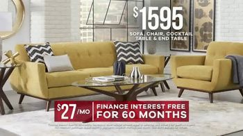 Rooms to Go Labor Day Sale TV Spot, 'Living Room Set' - Thumbnail 7