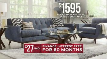 Rooms to Go Labor Day Sale TV Spot, 'Living Room Set' - Thumbnail 8