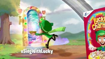 Lucky Charms TV Spot, 'Sing With Lucky' [Spanish] - Thumbnail 10