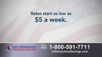 Life Insurance Savings Group TV Spot, 'Average Funeral Cost' - Thumbnail 8