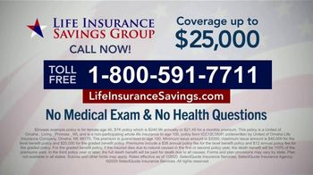 Life Insurance Savings Group TV Spot, 'Average Funeral Cost' - Thumbnail 9