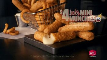 Jack in the Box Jack's Mini Munchies TV Spot, 'Curly Fries: $4' Song by Eric Carmen - Thumbnail 9