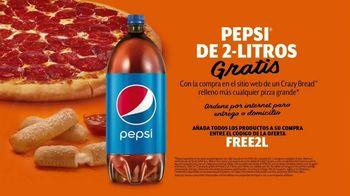 Little Caesars Pizza Stuffed Crazy Bread TV Spot, 'No estás soñando: Pepsi' [Spanish] - Thumbnail 8