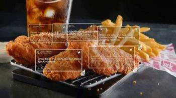 Jack in the Box Spicy Chicken Strips Combo TV Spot, 'A Little Birdie Told Me' - Thumbnail 7