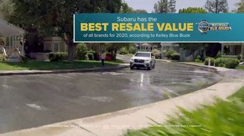 Subaru A Lot to Love Event TV Spot, 'So Much to Love: Resale Value' [T2] - Thumbnail 3