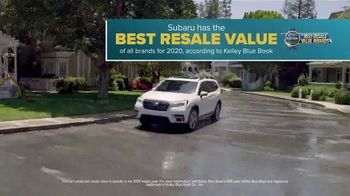 Subaru A Lot to Love Event TV Spot, 'So Much to Love: Resale Value' [T2] - Thumbnail 4