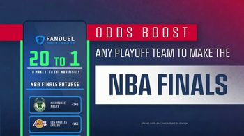 FanDuel SportsBook TV Spot, 'It's NBA Playoff Time: 20 to One Odds Boost'