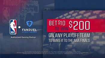 FanDuel SportsBook TV Spot, 'It's NBA Playoff Time: 20 to One Odds Boost' - Thumbnail 7