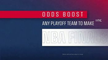 FanDuel SportsBook TV Spot, 'It's NBA Playoff Time: 20 to One Odds Boost' - Thumbnail 2