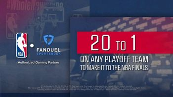 FanDuel SportsBook TV Spot, 'It's NBA Playoff Time: 20 to One Odds Boost' - Thumbnail 6