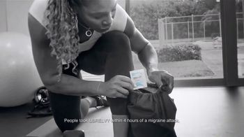 UBRELVY TV Spot, 'Every Match Counts' Featuring Serena Williams