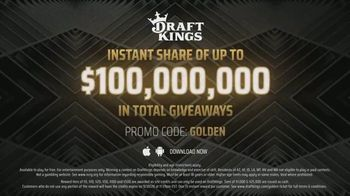 DraftKings $100 Million Golden Ticket Giveaway TV Spot, 'Celebrating the Return of Sports' - Thumbnail 8